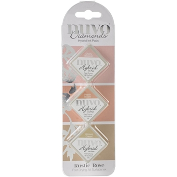 Tonic RUSTIC ROSE Nuvo Diamond Hybrid Ink Pads 90n