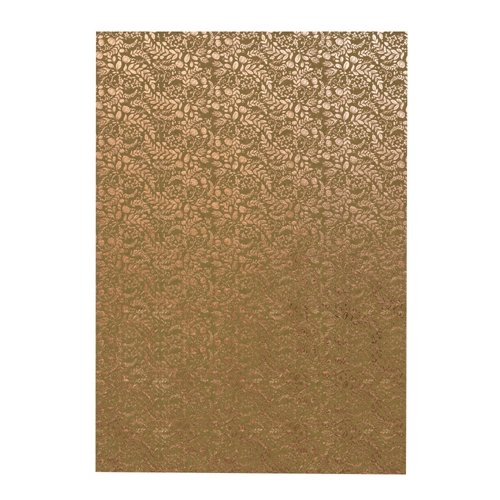 Tonic ROSE GOLD BLOSSOM A4 Craft Perfect Foiled Kraft Card 9350e Preview Image