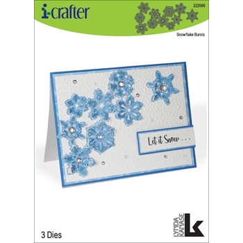 i-Crafter SNOWFLAKE BURSTS Dies 222066