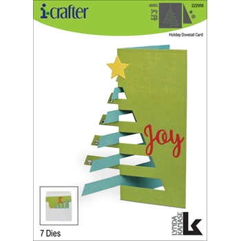 i-Crafter HOLIDAY DOVETAIL Dies 222068
