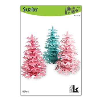 i-Crafter PINE TREE 3D Dies 222130