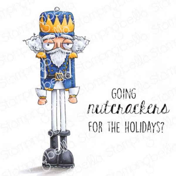 Stamping Bella Cling Stamps ODDBALL NUTCRACKER eb980 zoom image