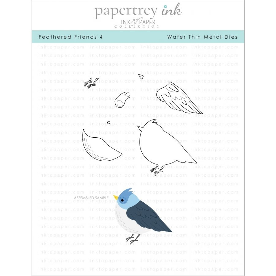 Ink to Paper FEATHERED FRIENDS 4 Dies ITP177 zoom image