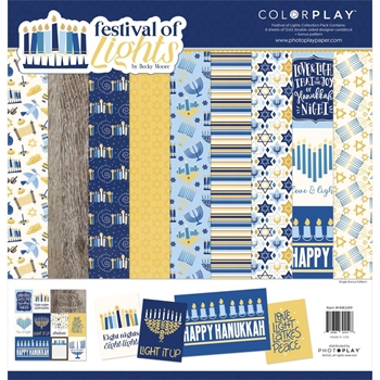 PhotoPlay FESTIVAL OF LIGHTS 12 x 12 Collection Pack hnk2419