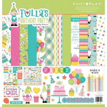 PhotoPlay TULLA'S BIRTHDAY 12 x 12 Collection Pack tbd2425