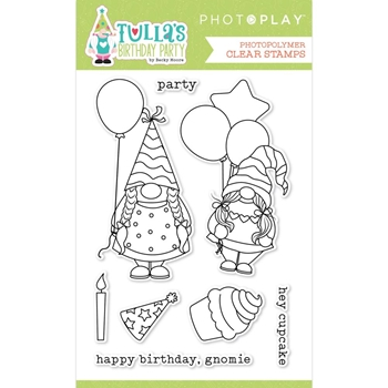 PhotoPlay TULLA'S BIRTHDAY Clear Stamps tbd2434