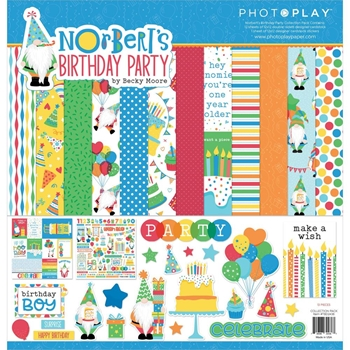 PhotoPlay NORBERT'S BIRTHDAY 12 x 12 Collection Pack tbd2438
