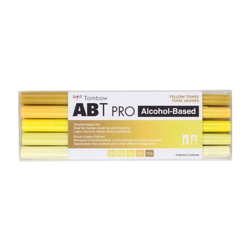 Tombow YELLOW TONES ABT PRO Alcohol-Based Art Markers Set 56967 Preview Image