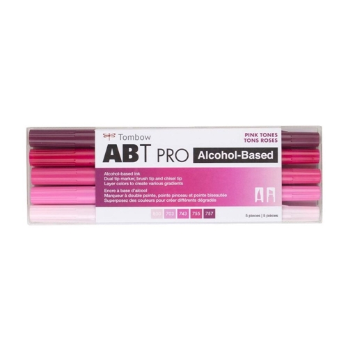 Tombow PINK TONES ABT PRO Alcohol-Based Art Markers Set 56968 Preview Image