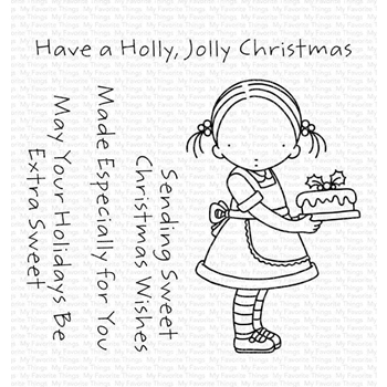 Pure Innocence SWEET CHRISTMAS WISHES Clear Stamps pi312