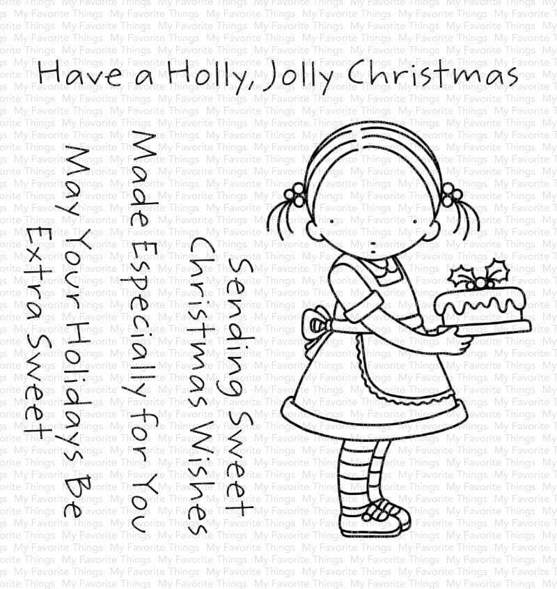 Pure Innocence SWEET CHRISTMAS WISHES Clear Stamps pi312 zoom image