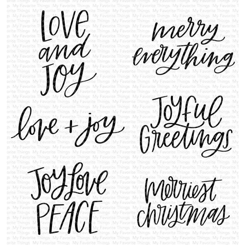My Favorite Things MINI MERRY MESSAGES Clear Stamps cs511 Preview Image
