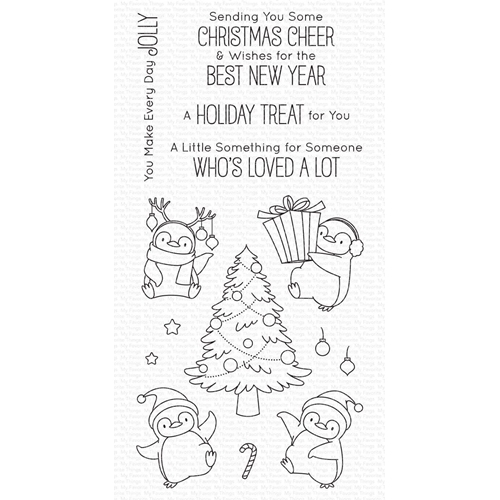 My Favorite Things HOLIDAY PENGUINS Clear Stamps bb113 Preview Image