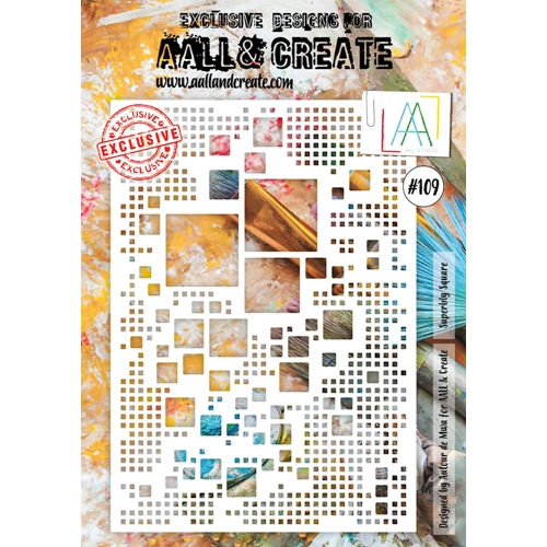 AALL & Create SUPERBLY SQUARE A4 Stencil aal10109 Preview Image