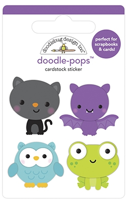 Doodlebug BOO CREW Doodle Pops 3D Stickers 6957 Preview Image