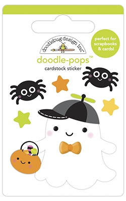 Doodlebug LITTLE BOO Doodle Pops 3D Stickers 6958 Preview Image