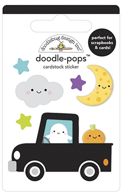 Doodlebug LOADS OF FUN Doodle Pops 3D Stickers 6960 Preview Image