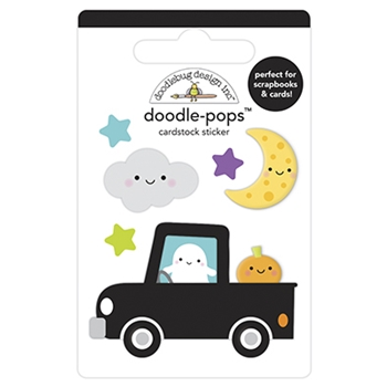 Doodlebug LOADS OF FUN Doodle Pops 3D Stickers 6960