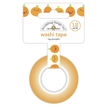 Doodlebug HEY PUMPKIN Washi Tape Ghost Town 6928