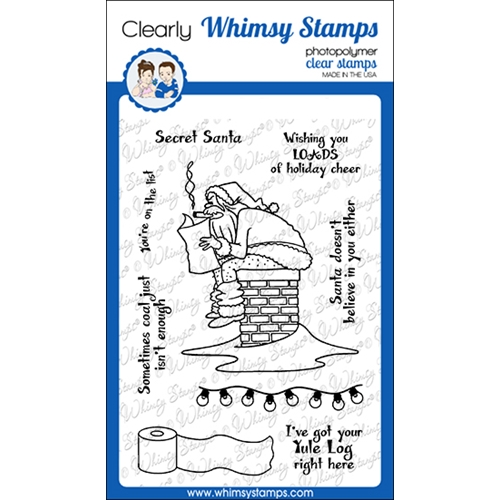 Whimsy Stamps LOADS OF CHEER Clear Stamps CWSD347 Preview Image