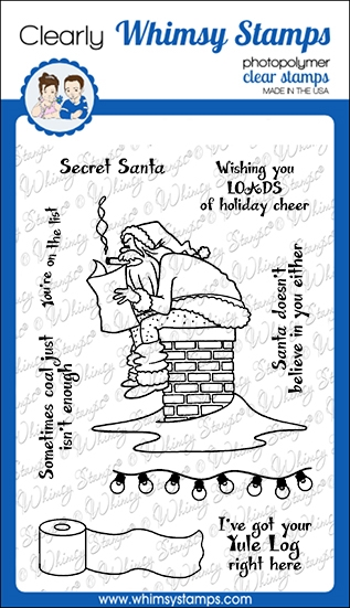 Whimsy Stamps LOADS OF CHEER Clear Stamps CWSD347 zoom image