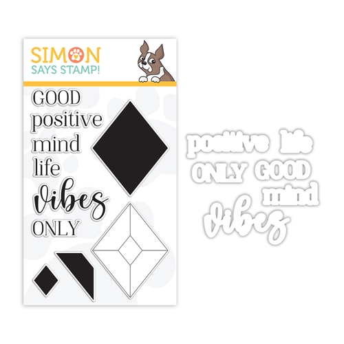 Simon Says Stamps and Dies GOOD VIBES set356gv Make Merry Preview Image