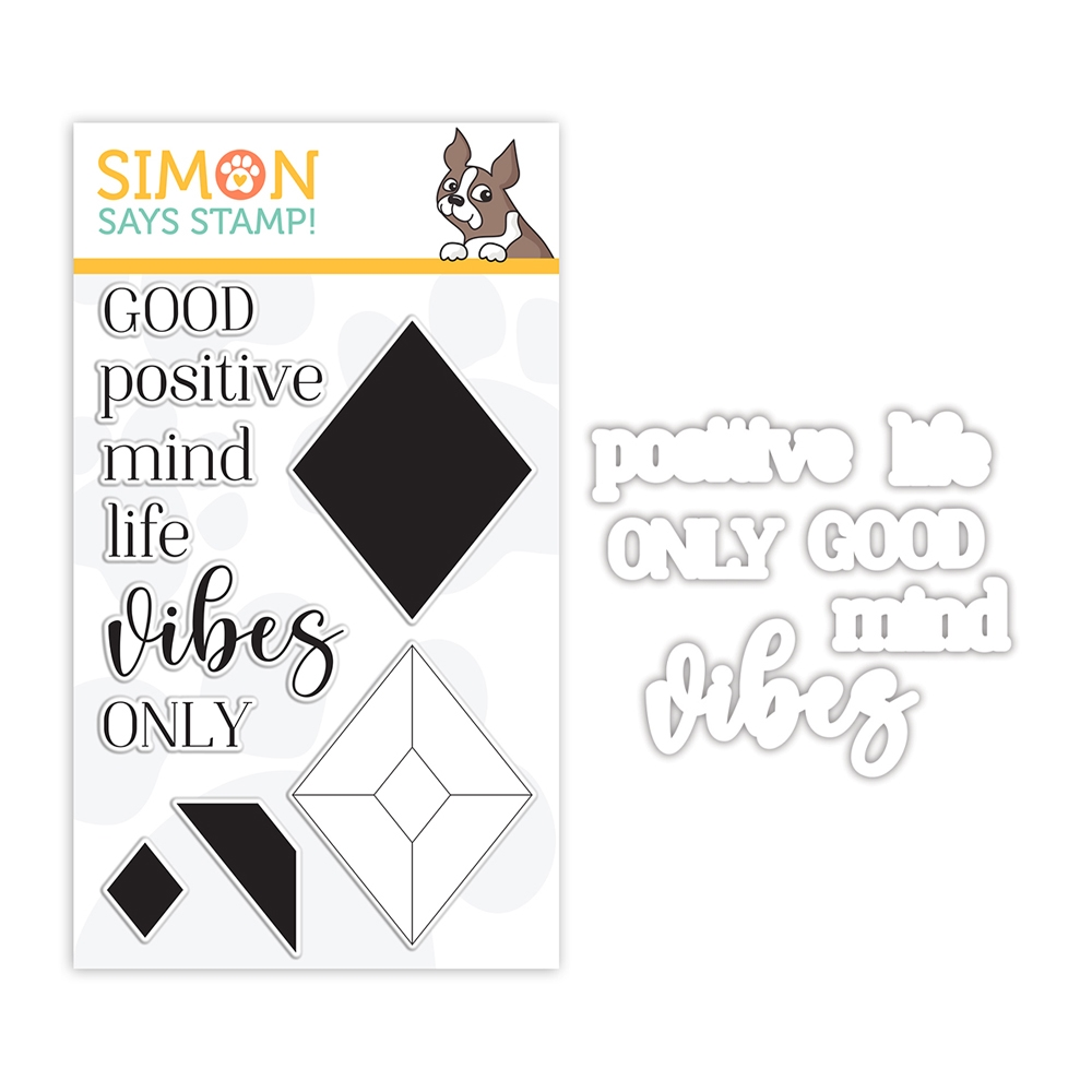 Simon Says Stamps and Dies GOOD VIBES set356gv Make Merry zoom image