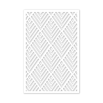 Simon Says Stamp Stencil MEGA DECO ssst121498 Make Merry