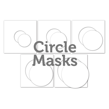 Simon Says Stamp Stencil CIRCLE MASKS ssst121494 Make Merry