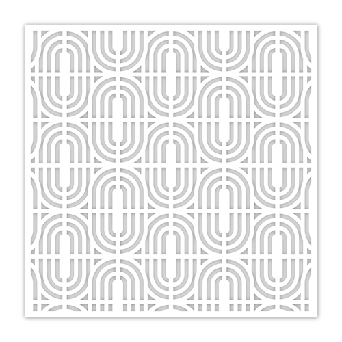 Simon Says Stamp Stencil GEOMETRIC ARCS ssst121505 Make Merry Preview Image