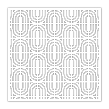 Simon Says Stamp Stencil GEOMETRIC ARCS ssst121505 Make Merry