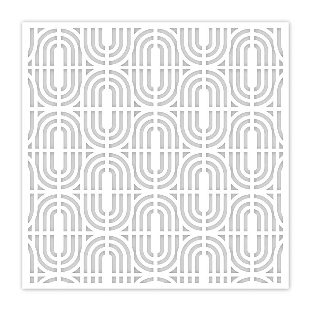 Simon Says Stamp Stencil GEOMETRIC ARCS ssst121505 Make Merry zoom image