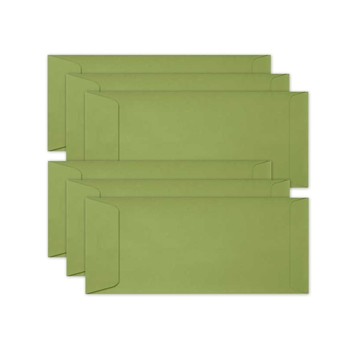 Simon Says Stamp Envelopes SLIMLINE AVOCADO Open End sss76