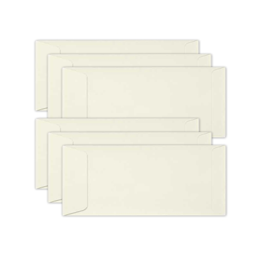 Simon Says Stamp Envelopes SLIMLINE CREAM Open End sss77 Preview Image