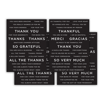 CZ Design SENTIMENT STRIPS REVERSE GRATITUDE czg010 Make Merry