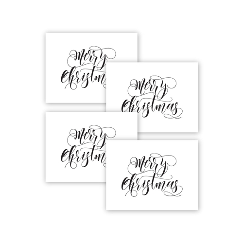 Simon Says Stamp MERRY CHRISTMAS Acetate Sheets sssa141005 Make Merry Preview Image