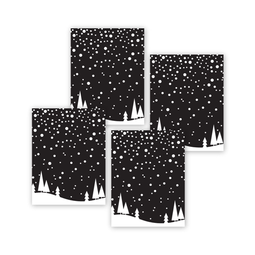 Simon Says Stamp FALLING SNOW Acetate Sheets sssa141008 Make Merry Preview Image