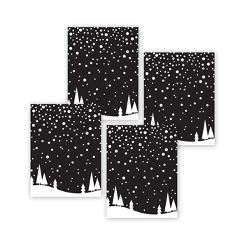 Simon Says Stamp FALLING SNOW Acetate Sheets sssa141008 Make Merry