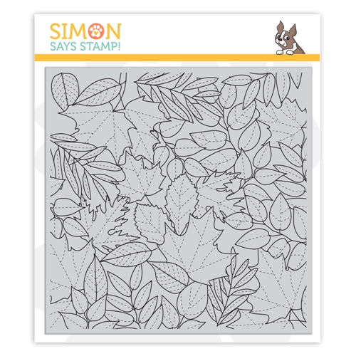 Simon Says Cling Stamp ALL LEAVES sss102168 Make Merry Preview Image