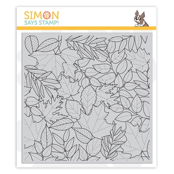 Simon Says Cling Stamp ALL LEAVES sss102168 Make Merry
