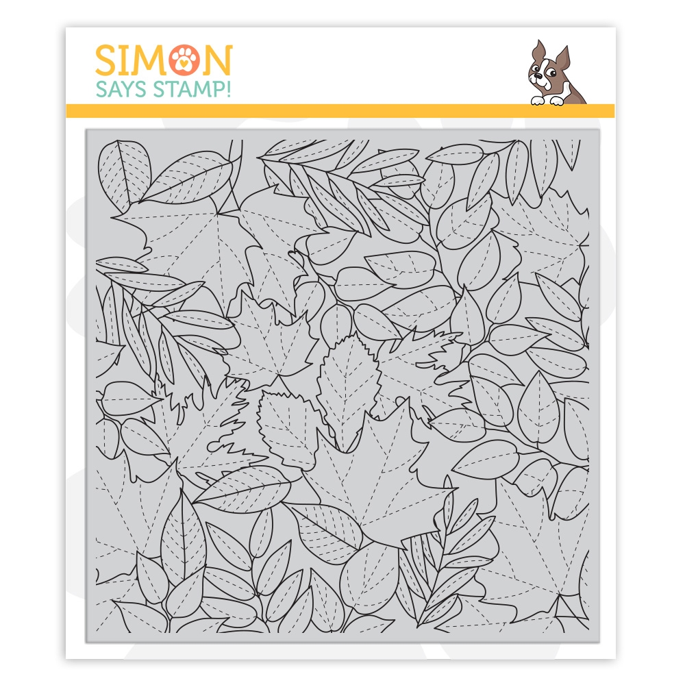 Simon Says Cling Stamp ALL LEAVES sss102168 Make Merry zoom image