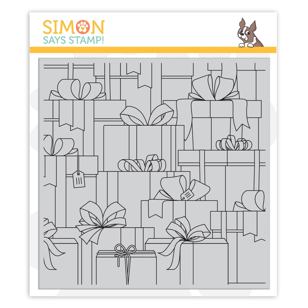 Simon Says Cling Stamp GIFT BOXES sss102169 Make Merry zoom image