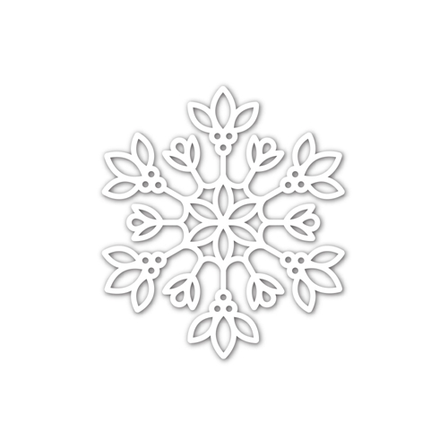 Simon Says Stamp DAPHNE SNOWFLAKE Wafer Die sssd112232 Make Merry Preview Image