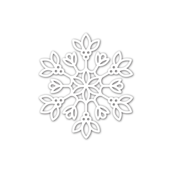 Simon Says Stamp DAPHNE SNOWFLAKE Wafer Die sssd112232 Make Merry