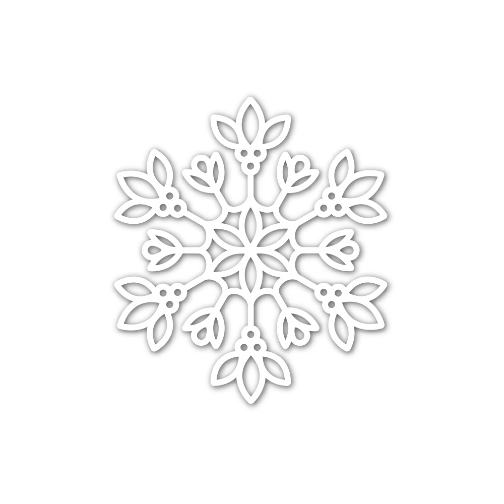 Simon Says Stamp DAPHNE SNOWFLAKE Wafer Die sssd112232 Make Merry zoom image