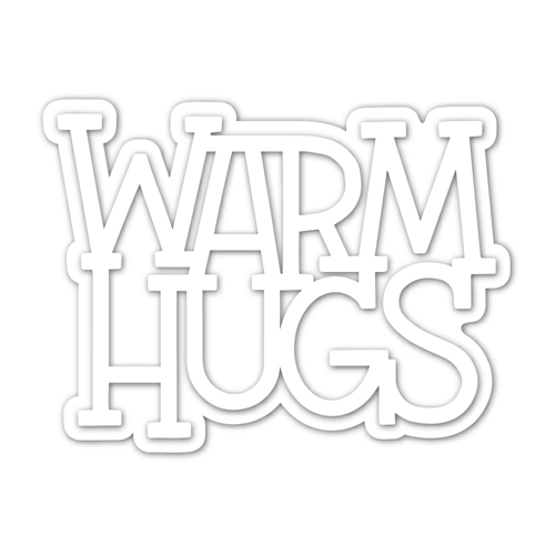 Simon Says Stamp WARM HUGS Wafer Die sssd112170 Make Merry Preview Image