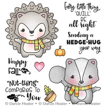 Darcie's HEDGE HUG Clear Stamp Set pol475