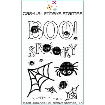 CAS-ual Fridays SPOOKY Clear Stamps cfs2012