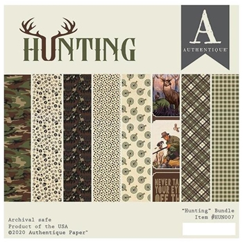 Authentique 6 x 6 HUNTING Paper Pad hun007