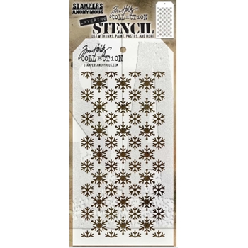 Tim Holtz Layering Stencil FLURRIES THS151